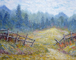 Beyond The Fence  $175.00