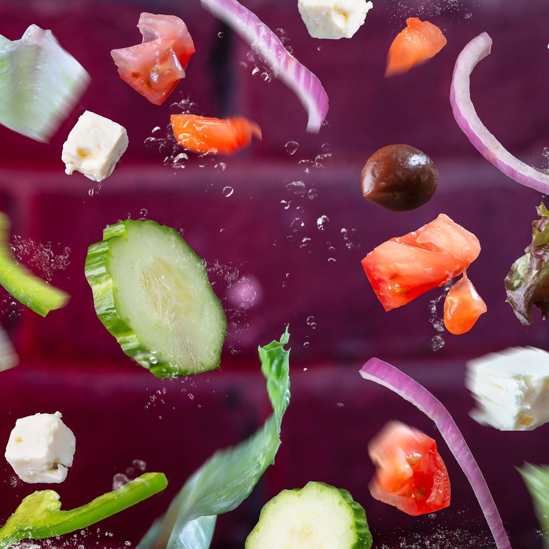 Salade illustatrion