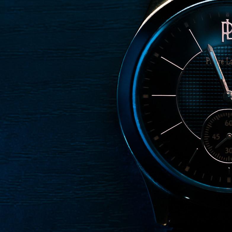 Gros plan de la montre