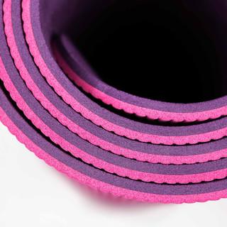 Tapis de yoga rose