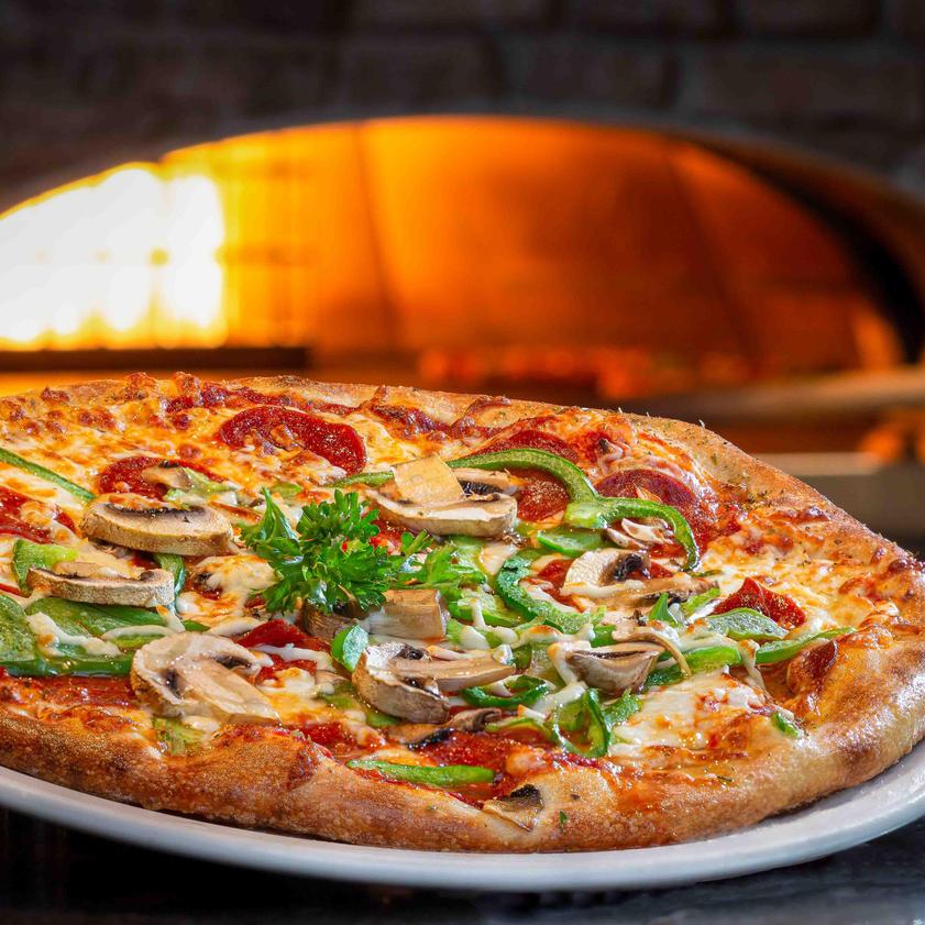"""The """"Pizza toute garnie"""""""