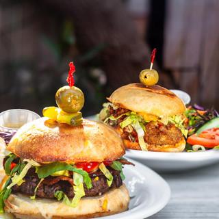 hamburger double