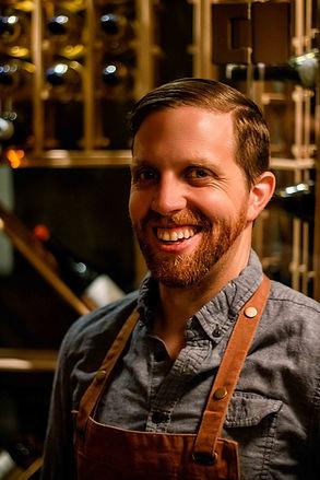 "Beautiful portait of Kris, the chef of ""Soif Bar à Vin"""