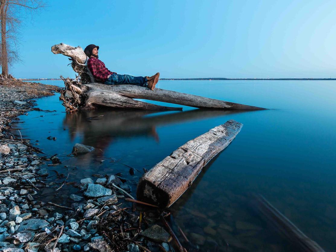 Prendre une pause à la rivière