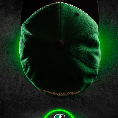 Celtics cap Neon