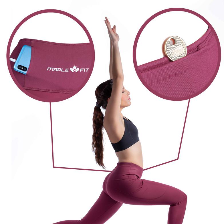 Maple Fit pantalon de Yoga