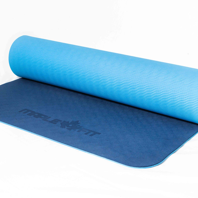 Blue Yoga mat