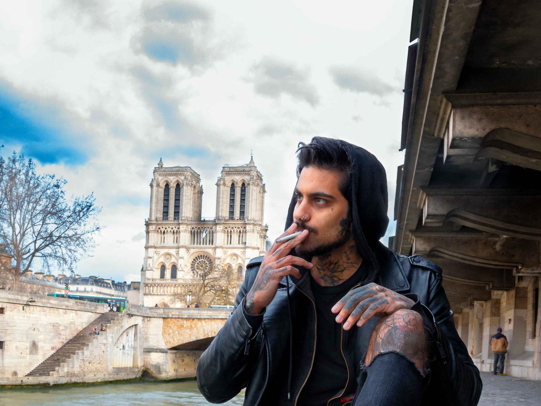 Smoke in Paris
