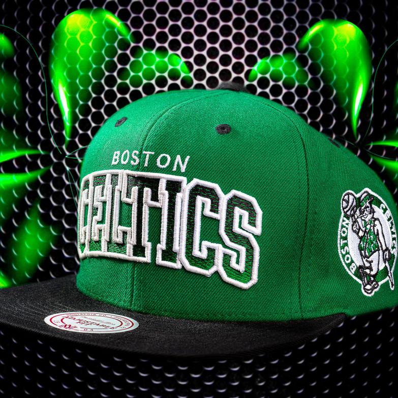 NBA Celtics Clover