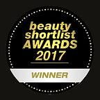 WINNER 2017 BEAUTY SHORTLIST AWARDS 300d