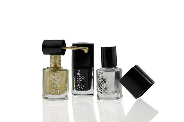 Gold, Silver, Gel Nail, Polishes, Varnishes, lacquer, 6 free, Halal, Vegan, Acetone Free