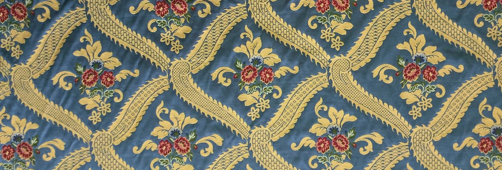 Blue Traditional Floral