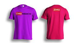 Pink Tshirt-Photoshop-Template