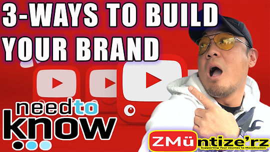 3 Ways to Build your Brand on Youtube.jp