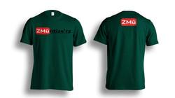 Green Tshirt-Photoshop-Template