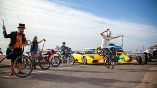 Gearing up for a wheelie great free family festival