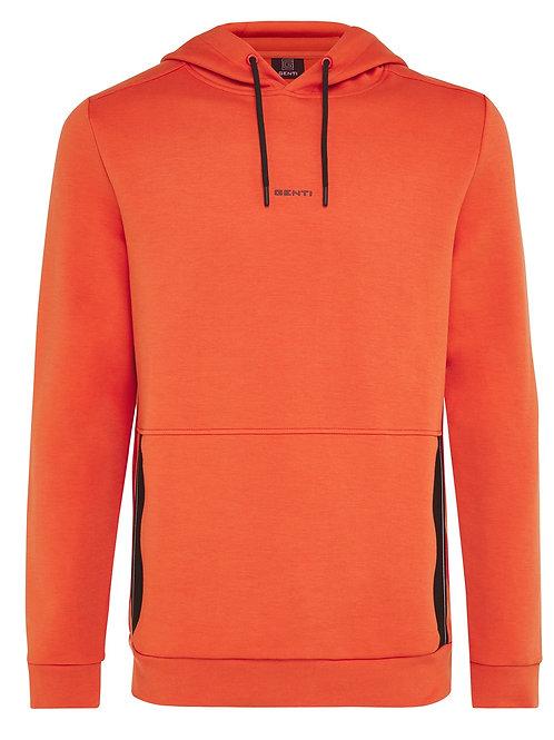 Genti Hoody in de kleur oranje