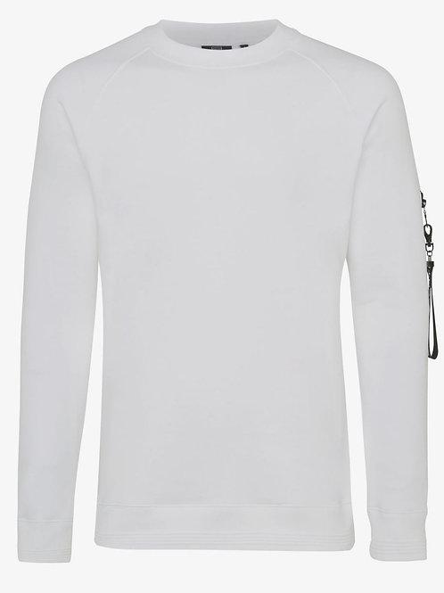 Genti sweat shirt model J3018-1229 kleur wit