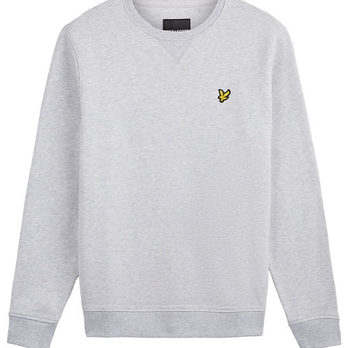 Lyle & Scott sweatshirt model ML424VTR kleur licht grijs