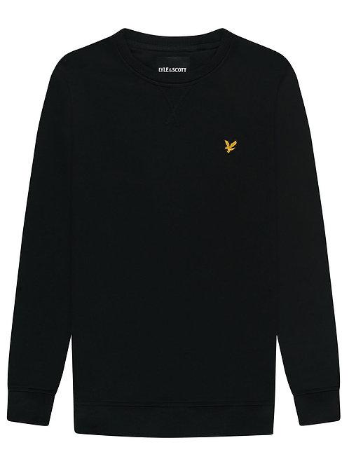 Lyle & Scott sweatshirt model ML424VTR kleur zwart