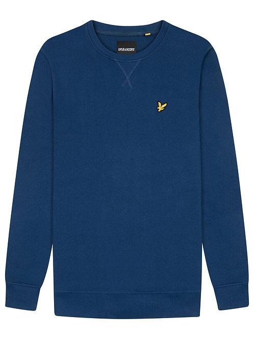 Lyle & Scott sweatshirt model ML424VTR kleur denim blauw