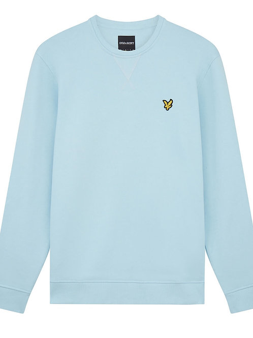 Lyle & Scott sweatshirt model ML424VTR kleur licht blauw