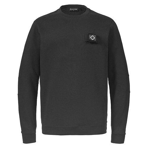 MA.STRUM training crew sweatshirt zwart