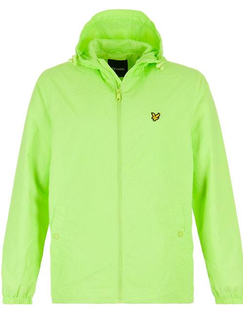 Lyle & Scott jack JK464V kleur neon groen