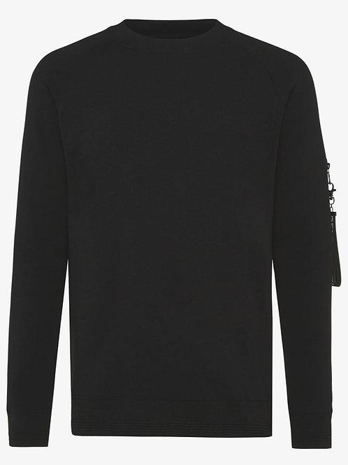Genti sweat shirt model J3018-1229 kleur zwart