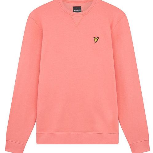 Lyle & Scott sweatshirt model ML424VTR kleur zalm