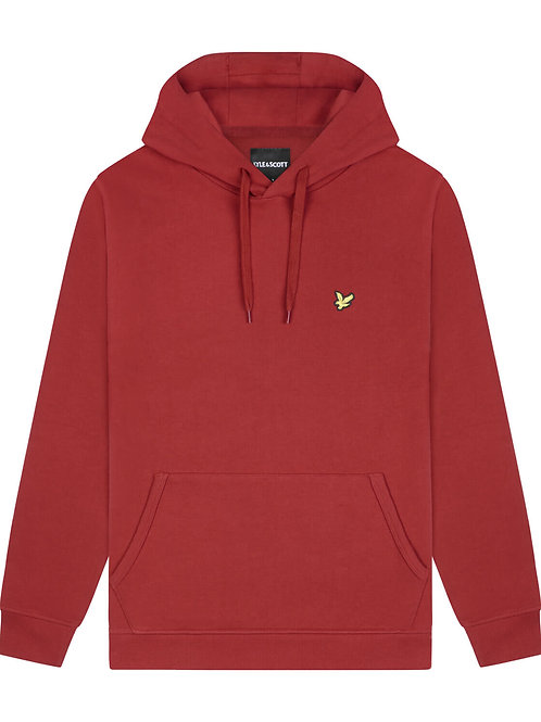 Lyle & Scott Hoody model ML416VTR kleur rood