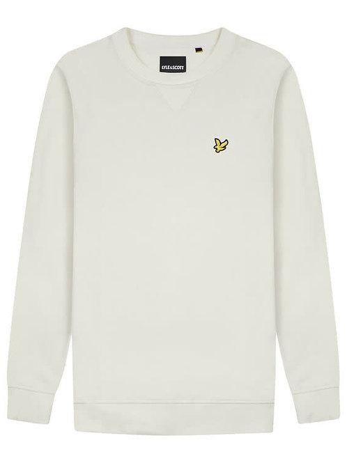 Lyle & Scott sweatshirt model ML424VTR kleur gebroken wit
