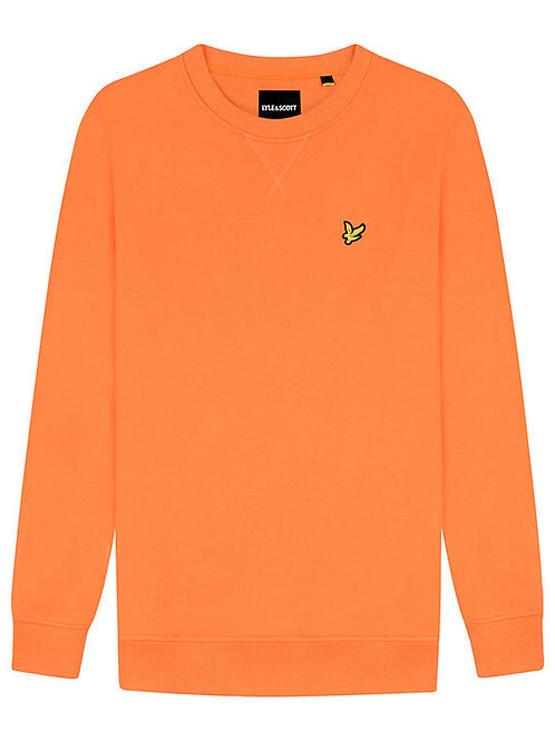 Lyle & Scott sweatshirt model ML424VTR kleur oranje
