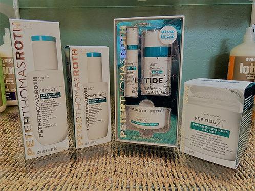 Peptide 21 Wrinkle Resist Kit & Collection