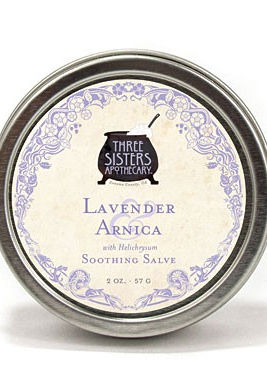 three sisters lavender arnica soothing s