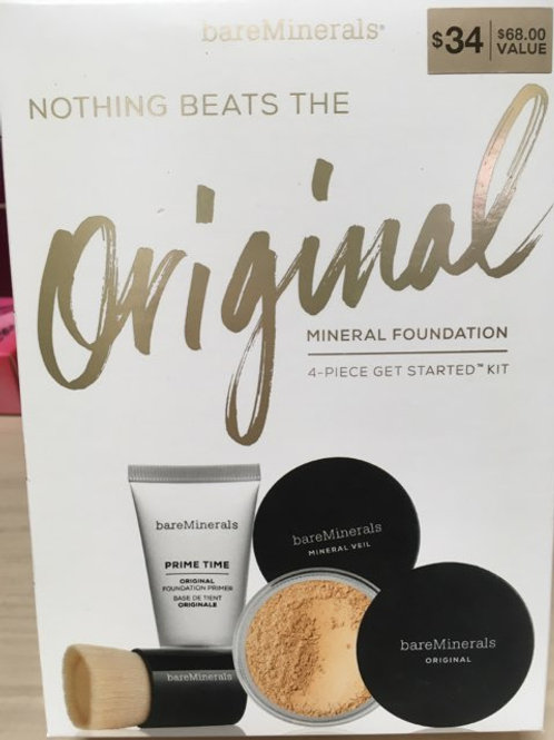Nothing Beats the Original Mineral Foundation 4-piece starter Kit