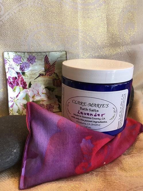 Lavender Bath Salts - 16 oz