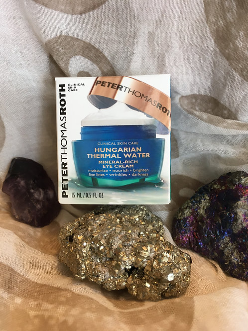Hungarian Thermal Water Mineral-Rich Eye Cream - .5 fl oz