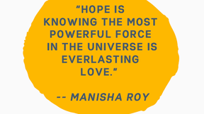 Unexpected Lessons in Hope