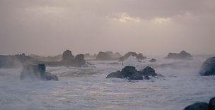 tempête à plougrescant