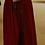 Thumbnail: Burgundy Cold-Shoulder Gown