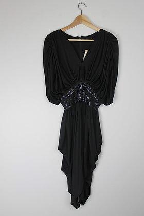 Vintage Disco Batwing Dress
