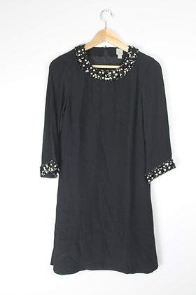 Jewelled Longsleeved Dress