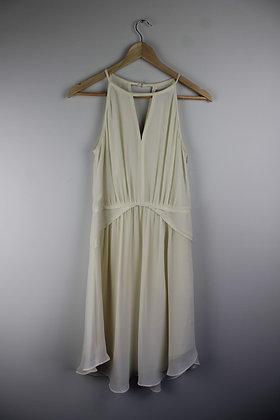 Cream Halterneck Dress