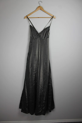 Silver Crossback Gown