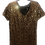 Thumbnail: Cheetah Print Sequin Minidress