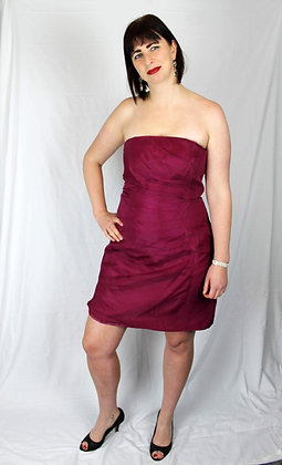 Strapless Cocktail Dress