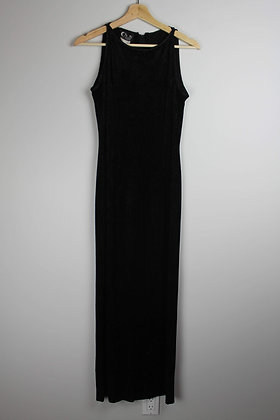 Black Velvet Gown