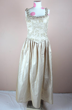 Rosebud Corseted Gown