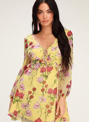 Botanical Bae Mini Dress